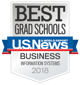 U.S. News & World Report Best Grad Schools: Business Information Systems, 2018